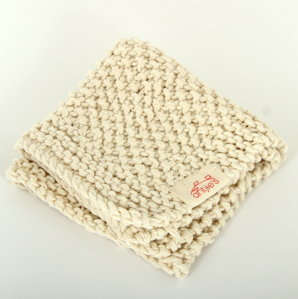 Antjie's Knitted Facecloth