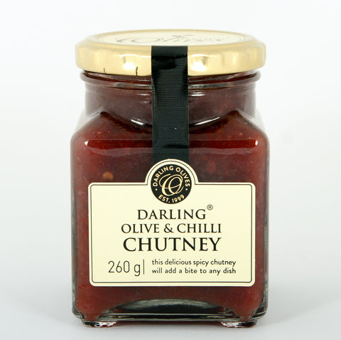 Darling Olive & Chilli Chutney 260g