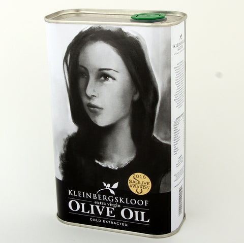 Kleinbergskloof Extra Virgin Olive Oil 1l in a tin