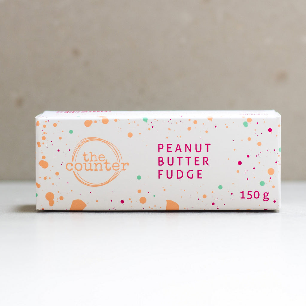 The Counter Peanut Butter Fudge 140g