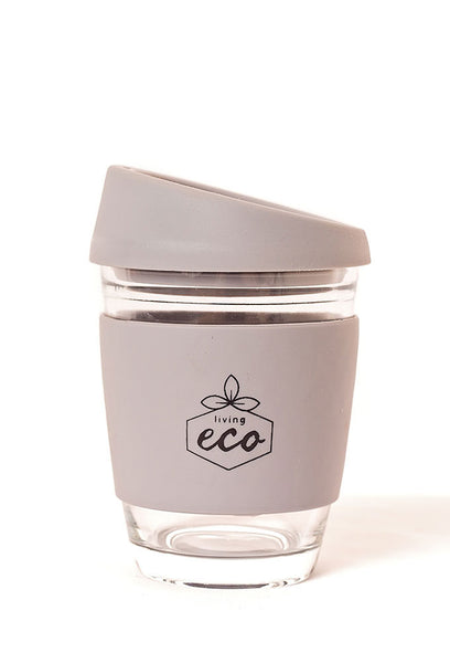 Living Eco Glass Eco Mug - Grey