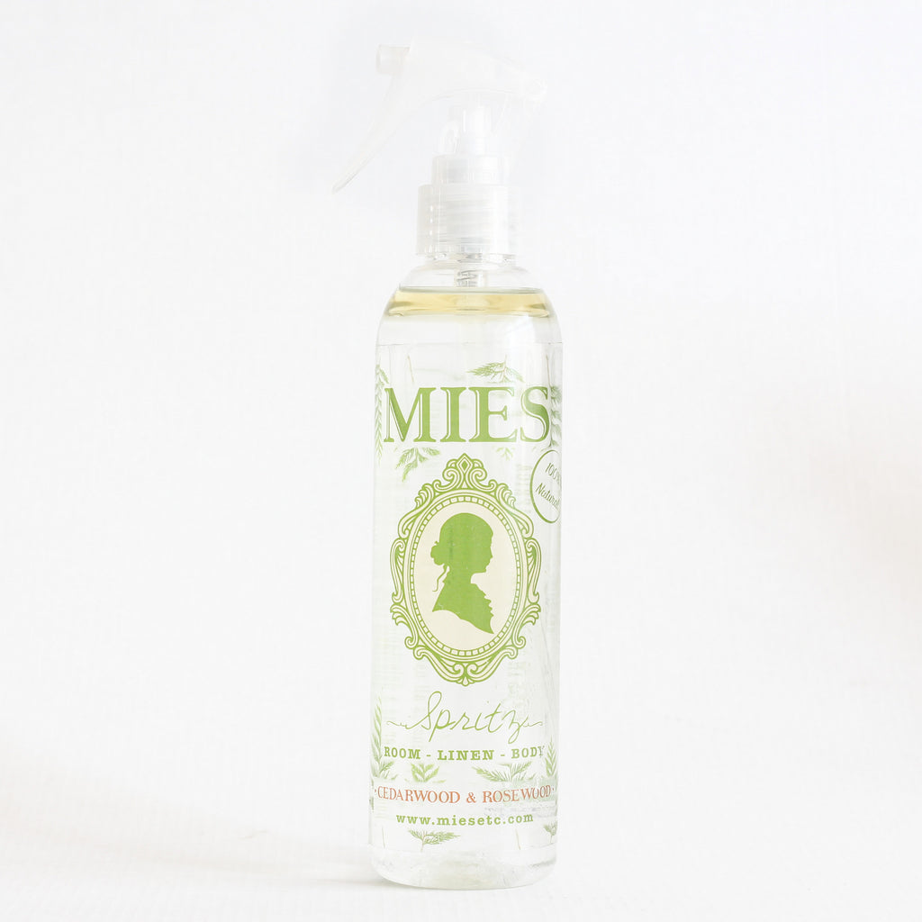 Mies Room, linen & body spray - Cedarwood and Rosewood