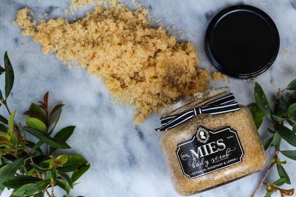 Mies Sugar Body Scrub