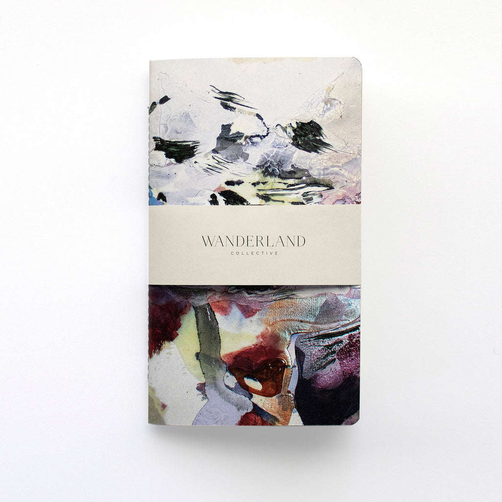 Wanderland Anastasia Pather Ghost File #1 (Charcoal) Notebook