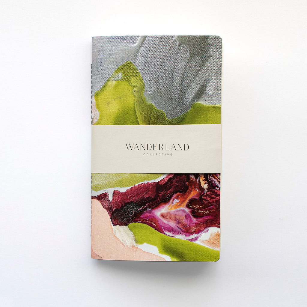 Wanderland Anastasia Pather Ghost File #1 (Plum Green) Notebook