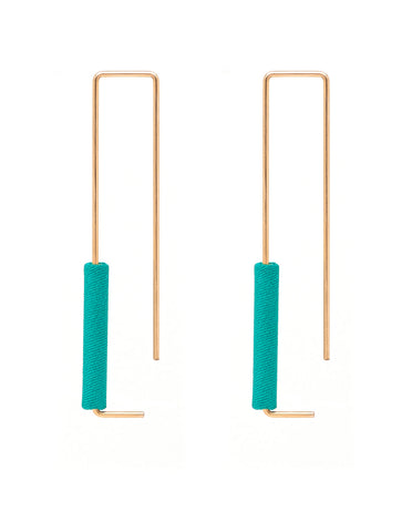 Dorus Mhor Rectangle Earrings - various colours