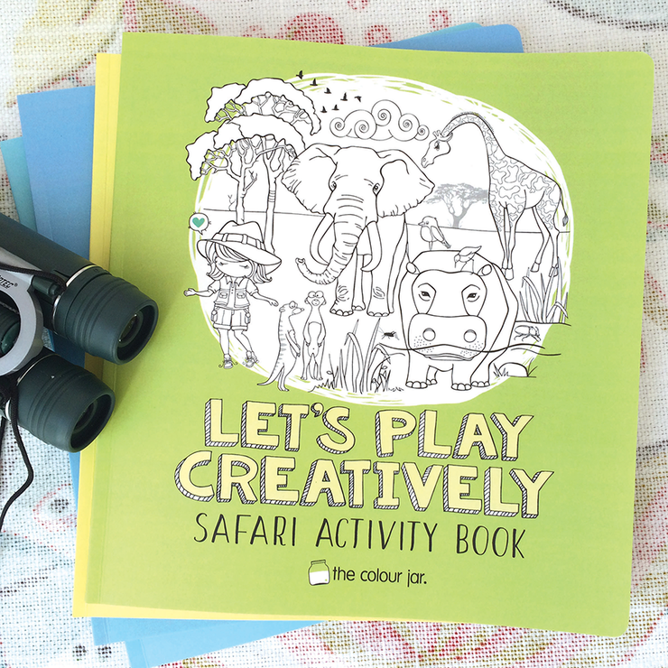 Let's Play Creatively ACTIVITY BOOKS - Safari