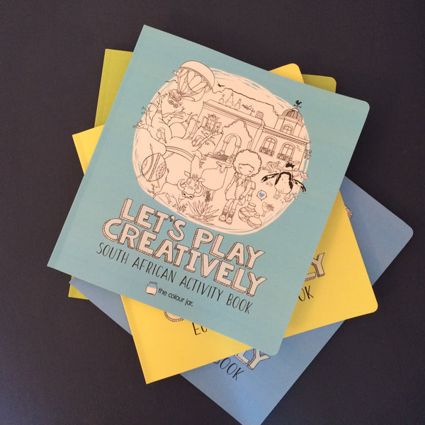 Let's Play Creatively ACTIVITY BOOKS - South Africa