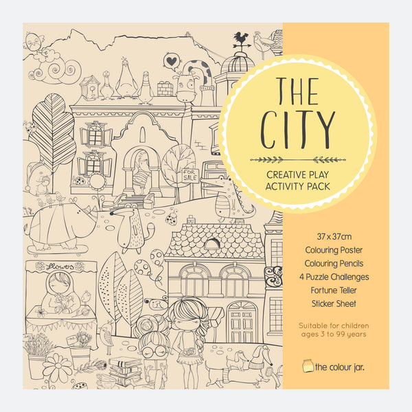 Creative Play ACTIVITY PACK - The City