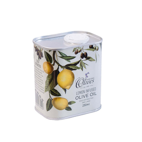 Darling Lemon infused Olive Oil 250ml in a tin