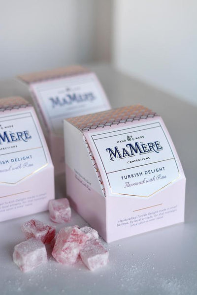 Mamere Rose Flavoured Turkish Delight