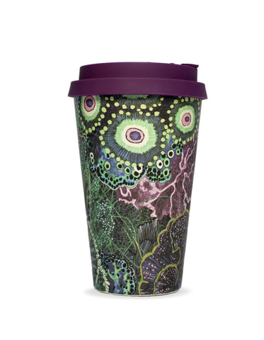 "Wanderland Aureum ""Oceanum"" Reusable Coffee Cup"