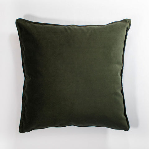 Wanderland Grey Velvet Scatter Cushion