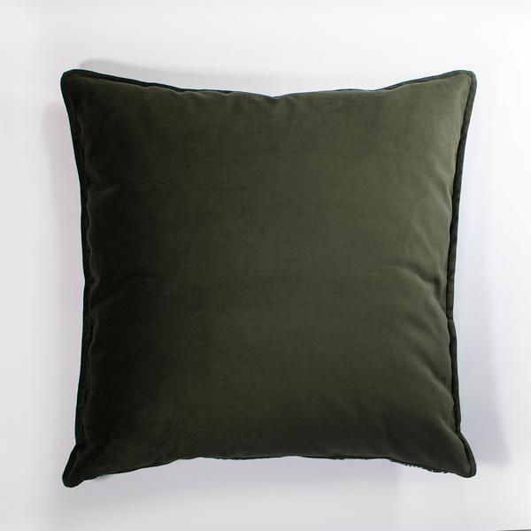 Wanderland Anastasia Pather Ghost File #1 Charcoal Velvet Scatter Cushion