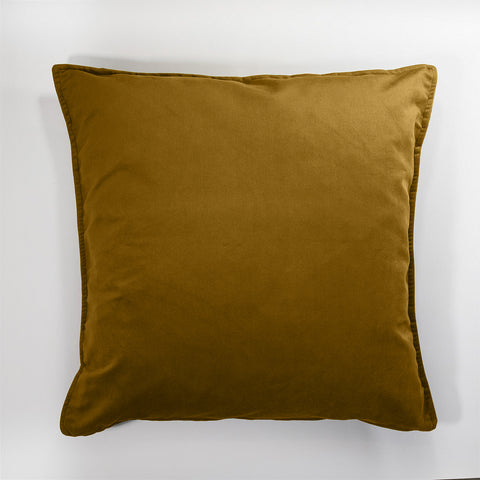 Wanderland Golden Mustard Velvet Scatter Cushion