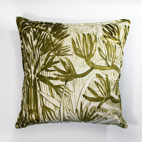Wanderland Aureum Highveld Gold Velvet Scatter Cushion