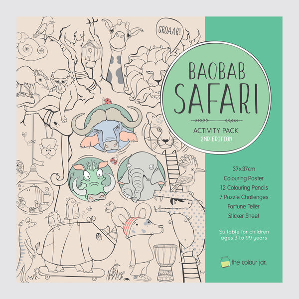 Creative Play ACTIVITY PACK - Boabab Safari