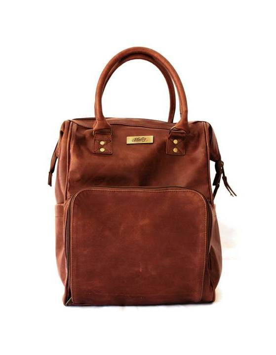 Mally Bambino Backpack in Brown