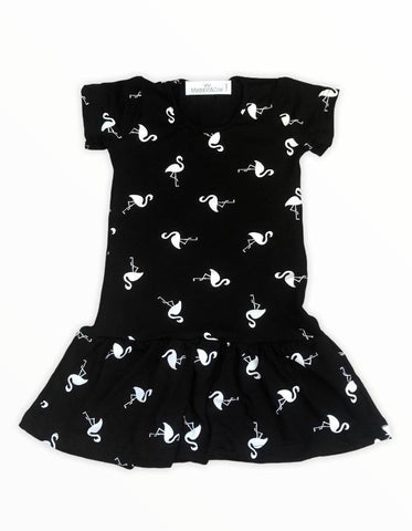 M&C Flamingo t-shirt dress