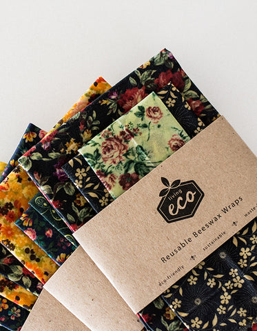 Living Eco Reusable Beeswax Wraps