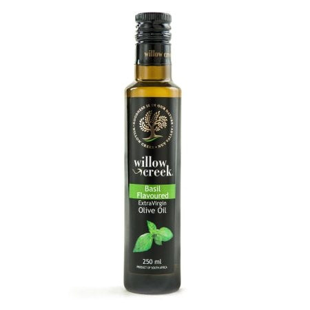 Willow Creek Basil Flavoured Olive Oil 250ml