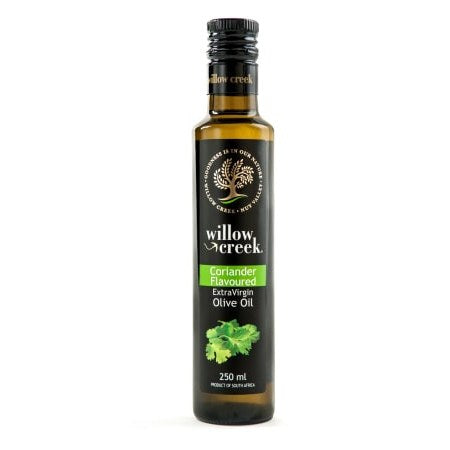 Willow Creek Coriander Flavoured Olive Oil 250ml