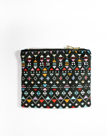 Wanderland Faatimah Mohamed-Luke Mother Tongue Cosmetic Pouch