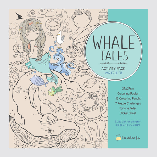 Creative Play ACTIVITY PACK - Whale Tales