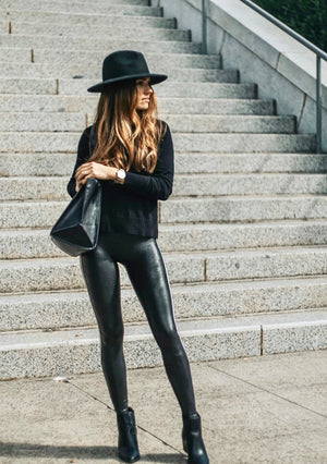 Faux Leather Spanx Legging