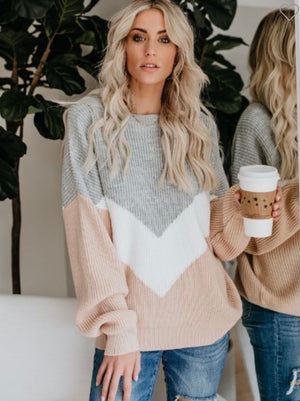 Meet On Main Multi Color Sweater