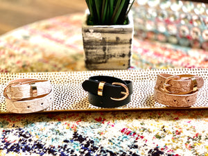 It's About You Printed Belts