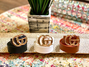 Plain Belts Larger GG