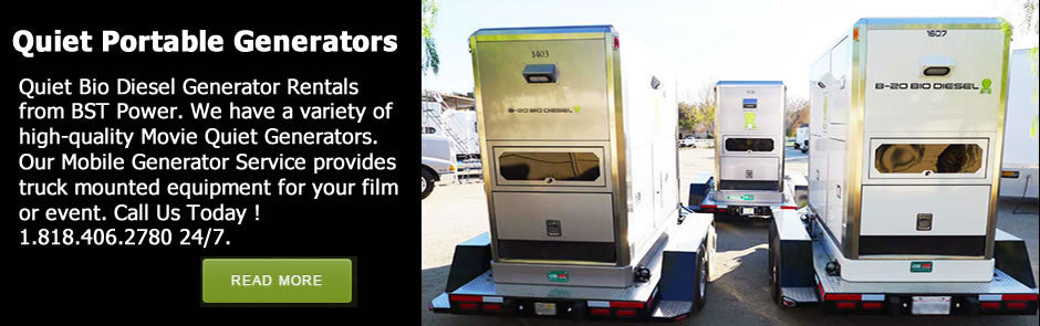 portable quiet generators for rent