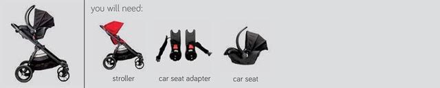 City Select Rear Facing with Infant Car Seat