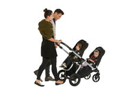 Baby Jogger City Select with two seats parent facing