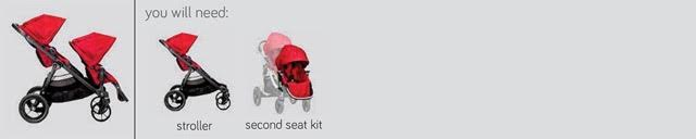 City Select with Two Toddler Seats - PeppyParents.com