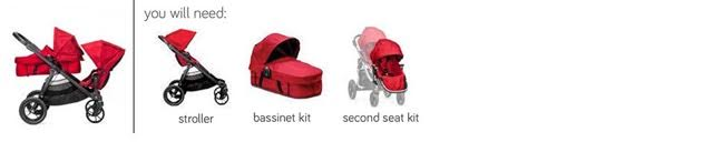 City Select Rear Facing Bassinet and Seat - PeppyParents.com