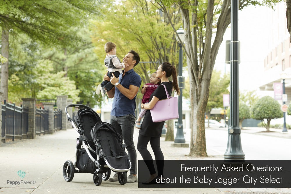 Baby Jogger City Select Stroller Configurations City