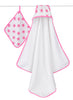 Aden + Anais Hooded Towel and Washcloth Set - PeppyParents.com  - 4