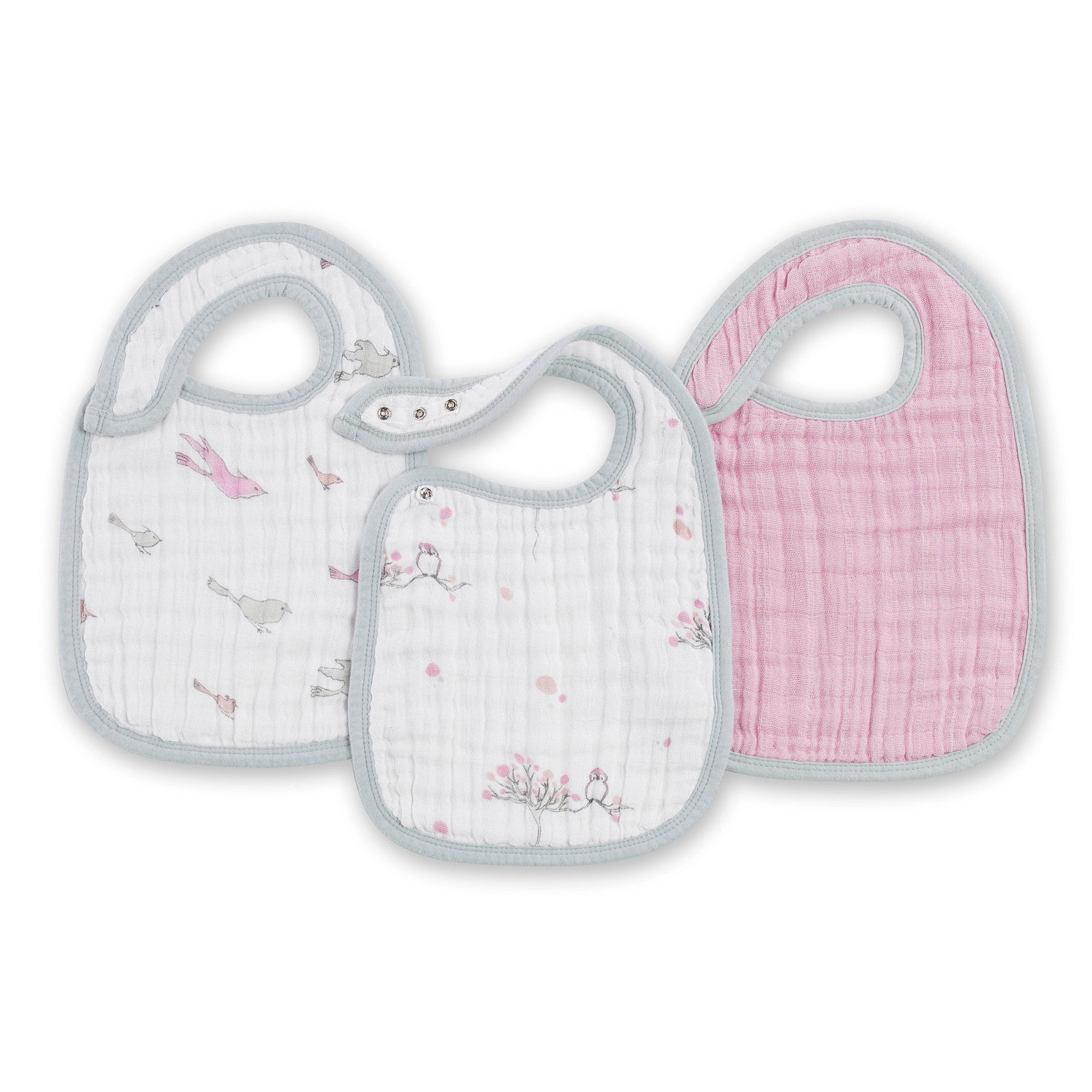 Snap Bib 3 Pack By Aden Anais At Peppyparents Com