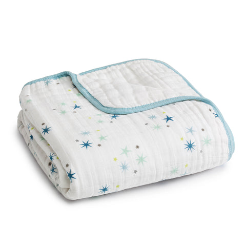 Aden + Anais Organic Dream Blanket - PeppyParents.com  - 1