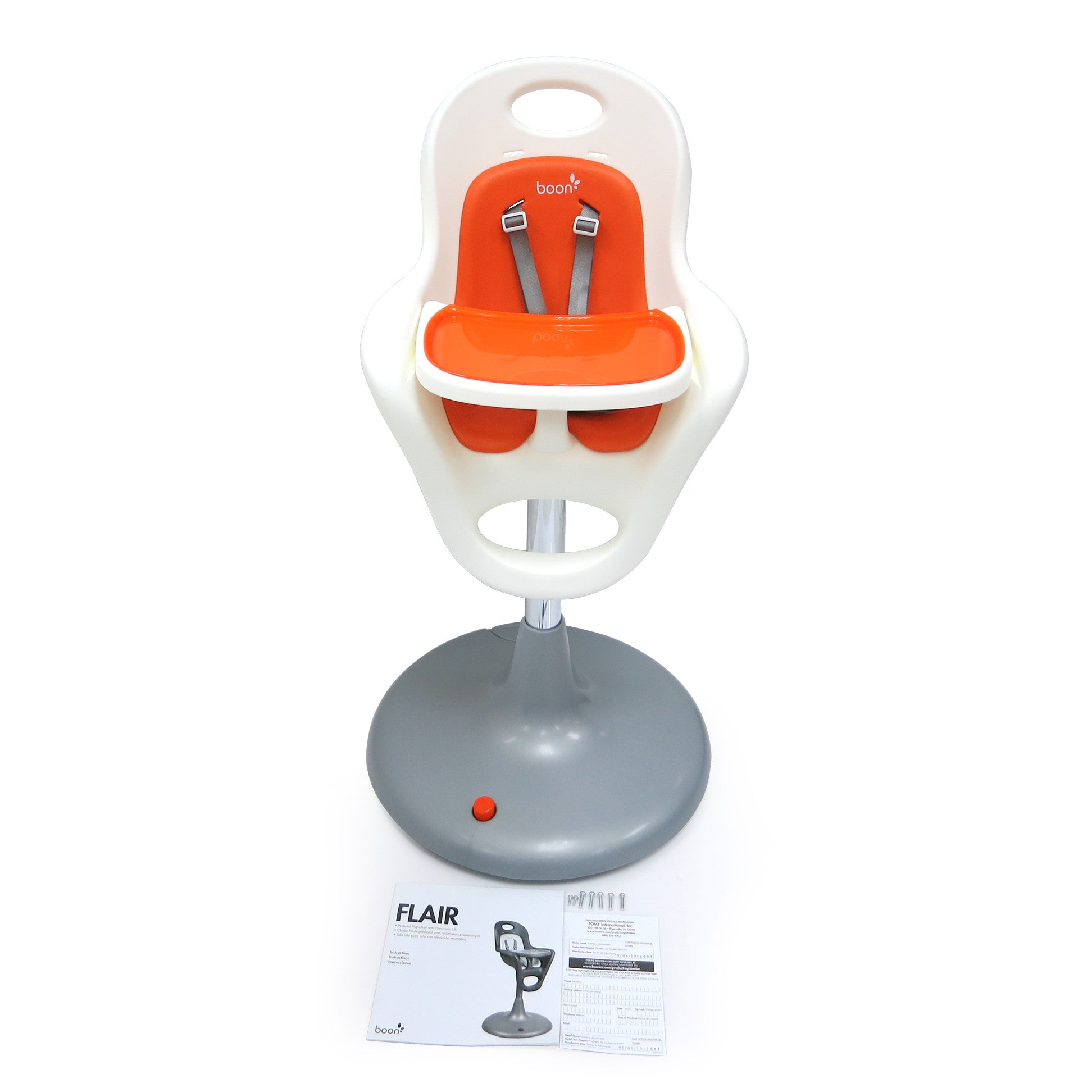 Boon Flair Infant Highchair With Foot Pedal Lift