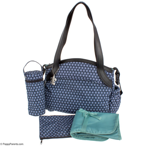 Kalencom Bellissima Diaper Bag - Fantasia Geo - PeppyParents.com