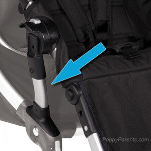 Baby Jogger City Select Front Position Bracket Set - PeppyParents.com  - 1