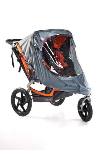 BOB Rain & Weather Shield for Duallie Strollers - PeppyParents.com  - 1