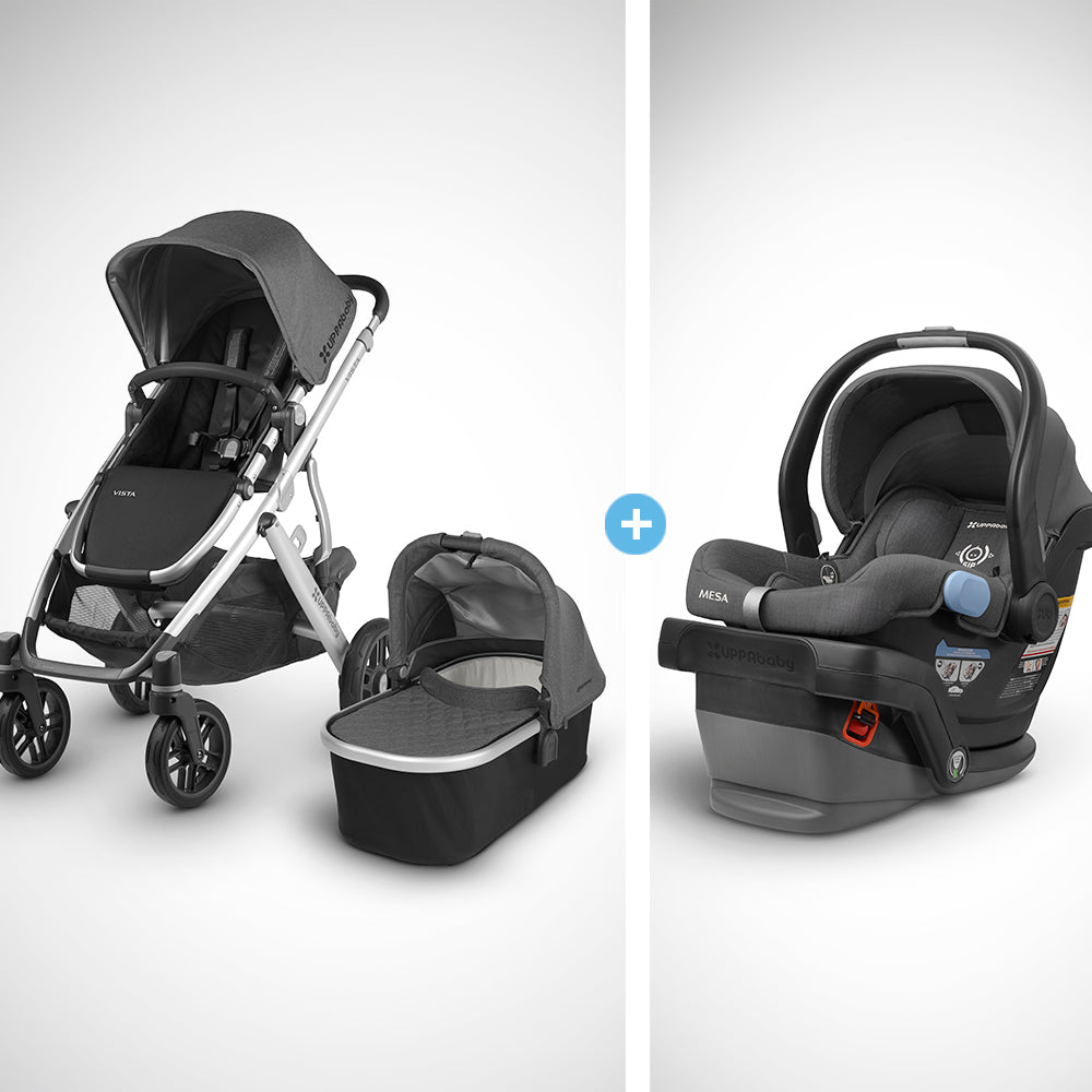 2018 UPPAbaby Vista Travel System With Mesa Car Seat