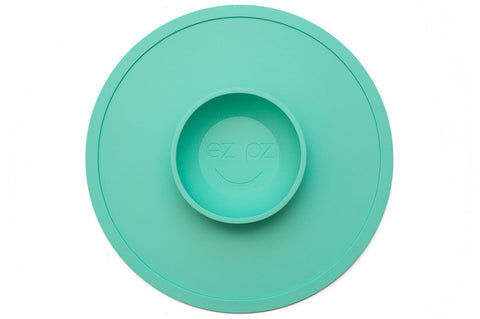 EZPZ Snack Mat - Mint - PeppyParents.com  - 1