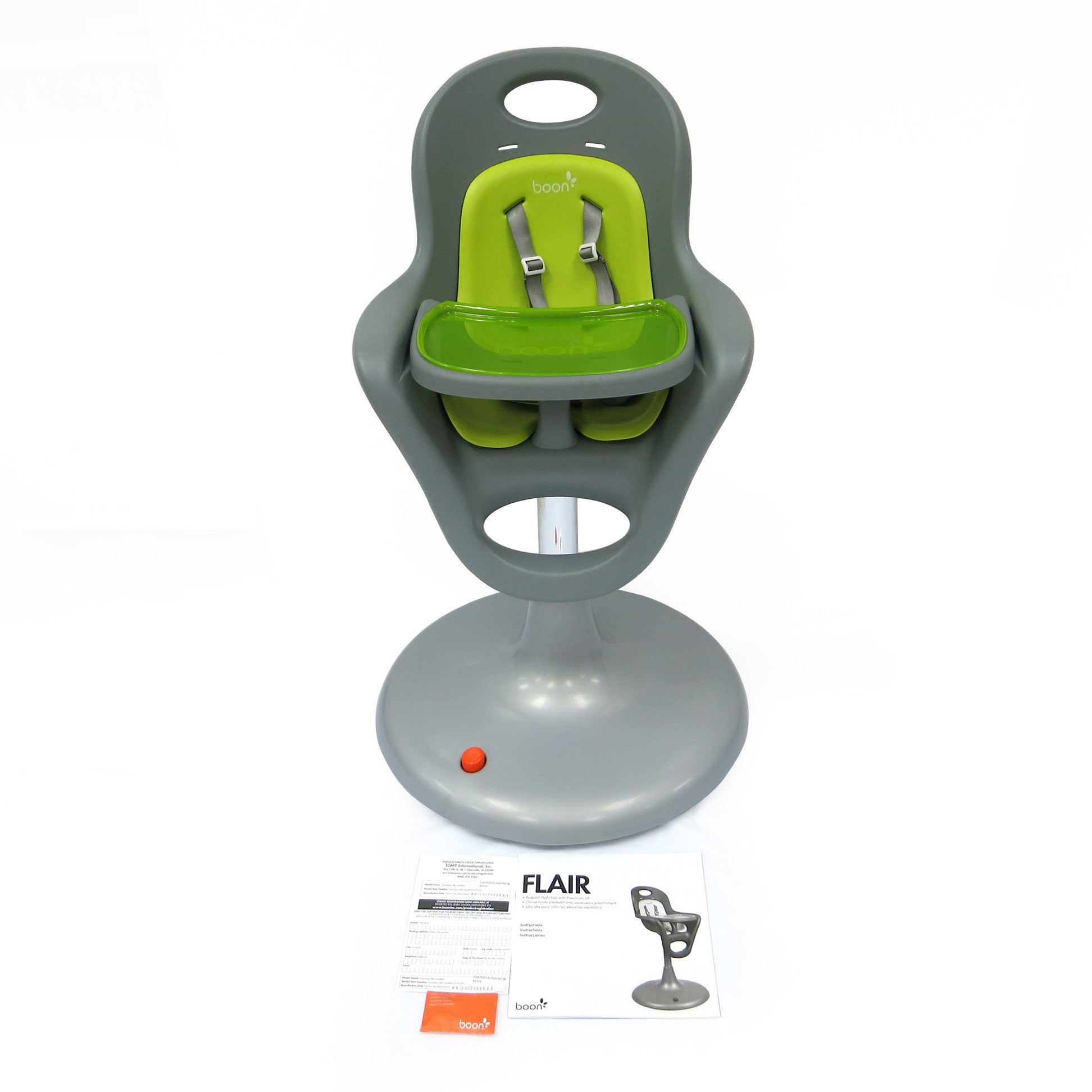 ... Boon Flair Infant Highchair With Foot Pedal Lift - PeppyParents.com - 2  sc 1 st  PeppyParents & Boon Flair Infant Highchair w/ Lift - PeppyParents.com