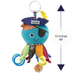 Lamaze Captain Calamari Soft Clip Toy for Baby - PeppyParents.com