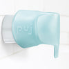 Puj Snug Bath Spout Safety Cover - Aqua Side View